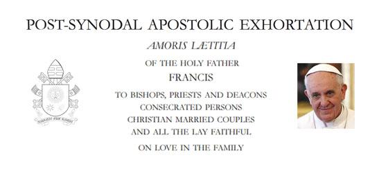 Amoris Laetitia (The Joy of Love): Reviewed by Aidan Hart