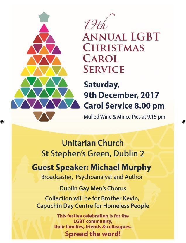 Dublin Carol Service for LGBT Community