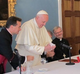 'I pray for good humour' – Pope Francis