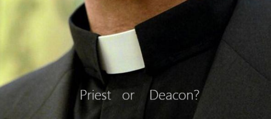 Deacons: clericalised laymen?