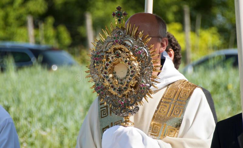 Eucharist: Divine Presence or Divine Feeding?