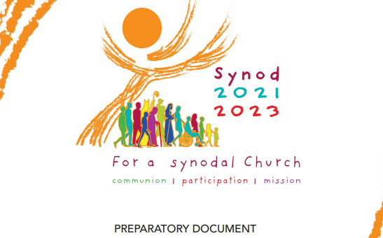 Illustration from the Preparatory Papal Document on the Rome-centred Synodal process 2021-23